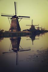 Molinos de Kinderdijk.