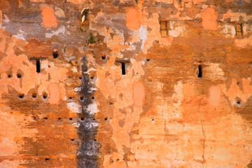 Les murs de l'Alcazaba de l'Alhambra de Grenade