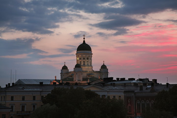 Helsinki cathedral. Finland