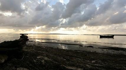 Twilight of the lagoon