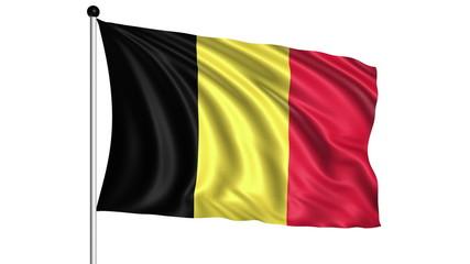 flag of Belgium - loop (+ alpha channel)
