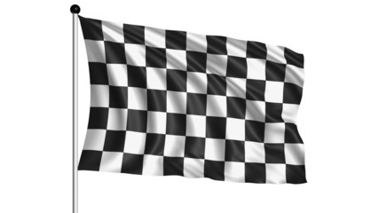 checkered flag - loop (+ alpha channel)