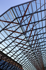 Hall with a glass roof
