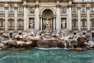 Rome Trevi Front