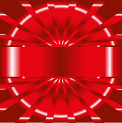 Abstract red background with place for your text