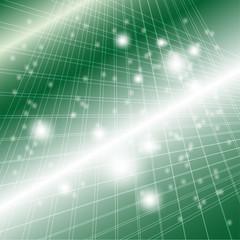 Grid dotted light Vector Illustration green Background