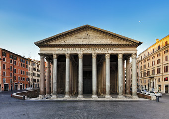 Rome Pantheon Front Rise