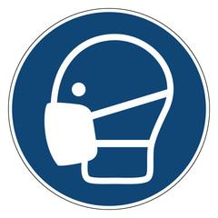 Mandatory action sign,Use mask