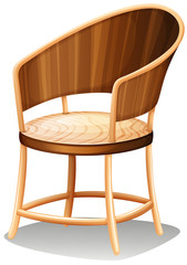 A smooth brown furniture