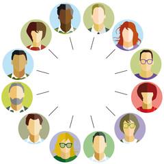 Mitarbeiter Gemeinschaft