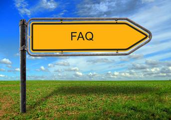 Strassenschild 17 - FAQ