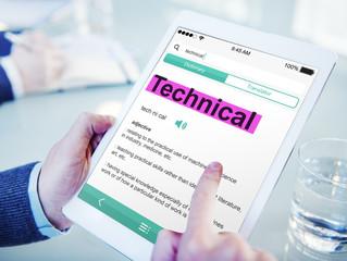 Hands Holding Digital Tablet Dictionary
