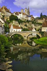 Semur-en-Auxois in Burgundy France