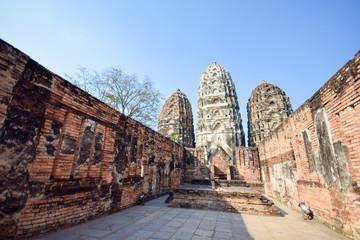 Wat Si Sawai in Sukhothai Historical Park, Thailand