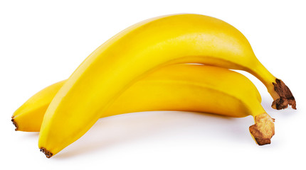 Two sweet yellow banana