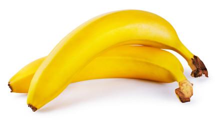 Two sweet yellow banana
