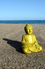 One Ancient Buddha Statue