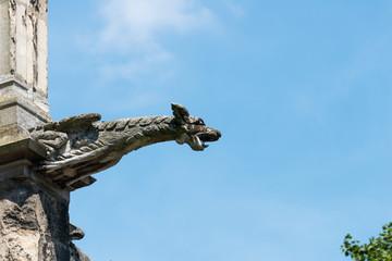ルーアンのノートルダム大聖堂のガーゴイル