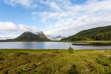 Lofoten landscape.