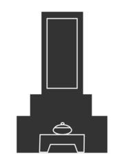 墓アイコン