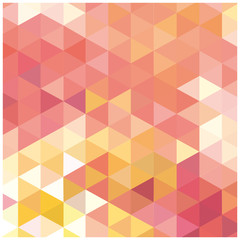 vector abstract background mosaic of triangles