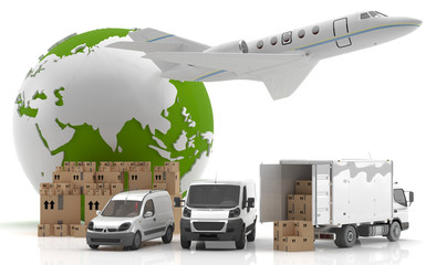 International goods transport - Trade in Asia