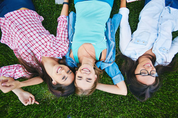 Carefree girls