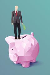 Piggy bank business