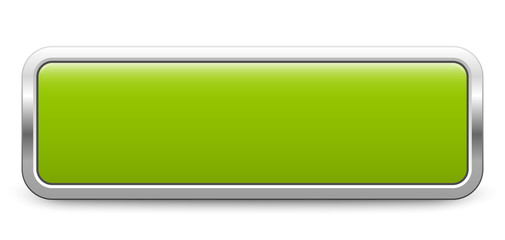 Long rectangular template - light green metallic button