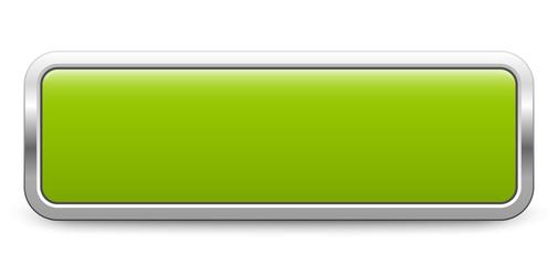Long rectangular template - light green metallic button