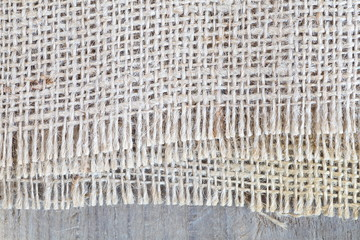 High Quality Hessian, Burlap Sacking Background and Texture
