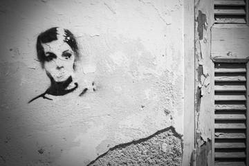 Graffiti, Rethymnon, Crete, Greece