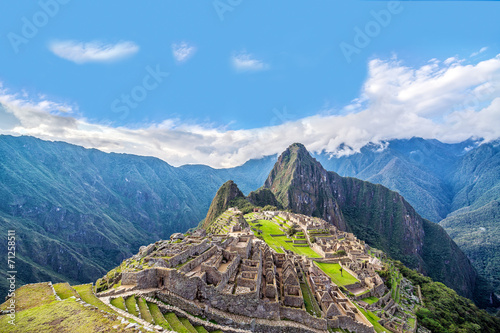 Canvas Rudnes Machu Picchu Panorama