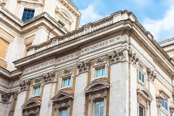 columns Santa Maria Maggiore, Rome