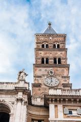 bell tower of Santa Maria Maggiore in Rome