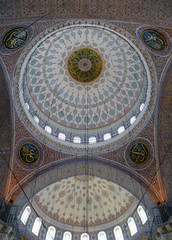 Ceiling of the Yeni Cami Mosque, Istanbul