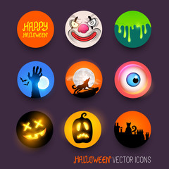 Halloween Vector Icons