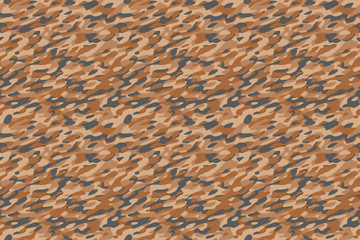 Camouflage Desert Brown Background