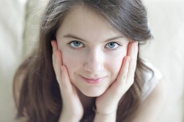 Beautiful teenager girl