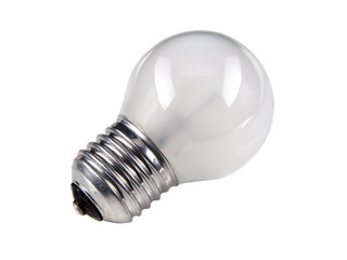 Old conventional light bulb