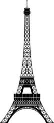 Isolated Tour Eiffel