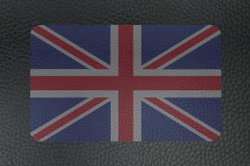 Sous Main en Cuir - Drapeau Britannique