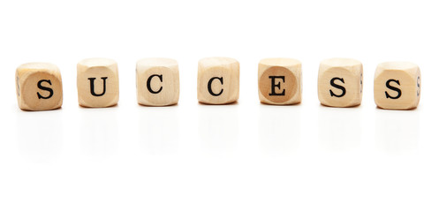 Holzwürfel-Success