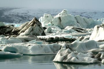 Lonely icebergs
