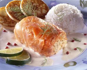 paupiettes de saumon