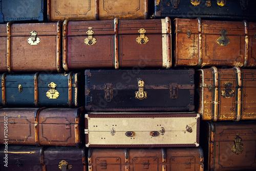Viel Koffer hintergrund - 71264507