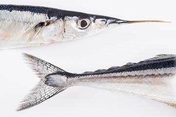 Agujas, pescado azul para una dieta saludable