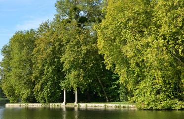 Ile de France, the picturesque city of Rambouillet