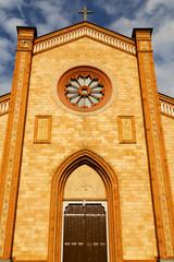 villa cortese italy   church  varese  the old door entrance
