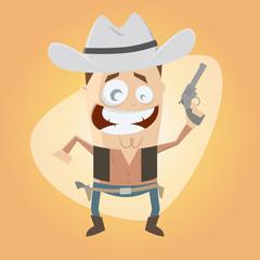 cowboy western revolver